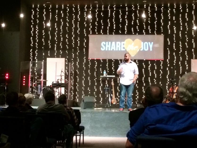 Geoff Preaching 111013